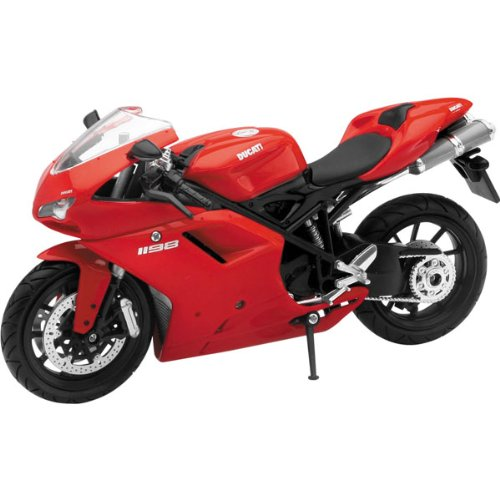 New Ray Ducati 1198 Replica Motorcycle Toy - 1:12 Scale