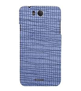 EPICCASE blue lines Mobile Back Case Cover For InFocus M530 (Designer Case)