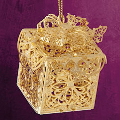 ChemArt 2.5″ Collectible Keepsakes Elegant Present Christmas Ornament
