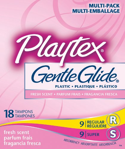 Playtex Gentle Glide Tampons With Comfortable
