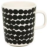 (マリメッコ) MARIMEKKO マリメッコ マグカップ MARIMEKKO 063296 190 SIIRTOLAPUUTARHA MUG WHITE/BLACK/RASYMATTO[並行輸入品]