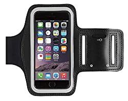 Mobilegear Joggers/Working out Arm Band for Apple iPhone 6