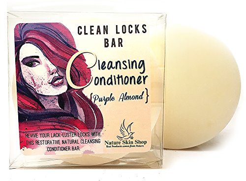 Organics Cleansing Conditioner Solid Bar ~ Cleanse. Condition & Nourish in a Bar. (Purple Almond) (Hair Condition Bar compare prices)