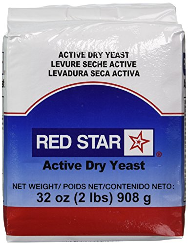 Red Star Active Dry Yeast, 2 Pound Pouch (Protein Bread compare prices)