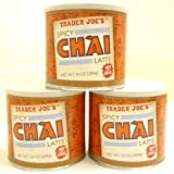 Set of 3 Trader Joe's Spicy Chai Latte