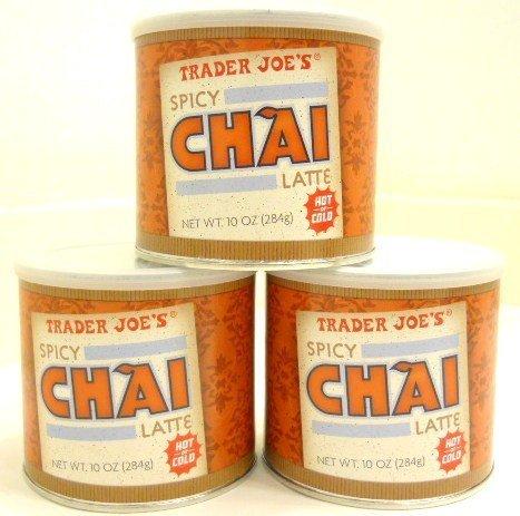 Trader Joe's Spicy Chai Latte Set of 3 Home Garden Decor Artificial ...