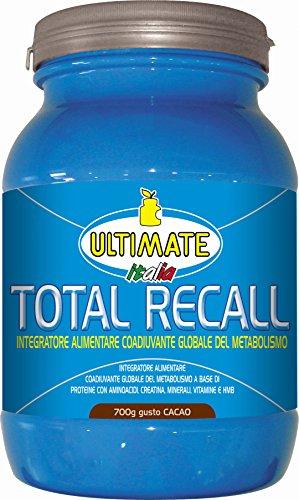 Ultimate Italia Total C Recall Coadiuvante Globale del Metabolismo - 700 gr