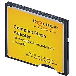 Compact Flash Adapter - Kartenadapter ( microSD, microSDHC, microSDXC ) - CompactFlash