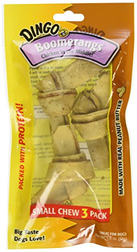 Dingo Peanut Butter Boomerangs, 3 Pack (DN-15100)