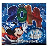 Disney World Exclusive Sorcerer Mickey 2014 Photo & Frame Album Holds 200 4x6 Pictures Medium Size - NEW