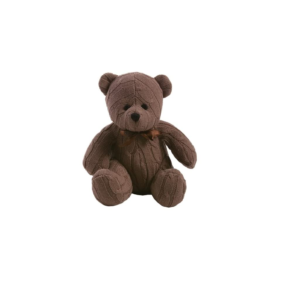 Cable Knit Teddy Bear