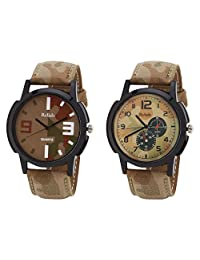 Relish Black Analog Round Casual Wear Watches For Men - B019T7L1B6