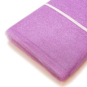 """Lavender Glitter / Shimmer Tulle Bolt - 54"""" X 15 Yds"""