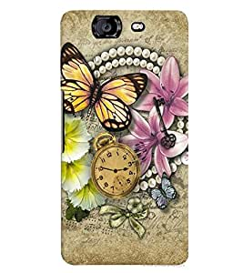 Micromax A350 Canvas Knight MULTICOLOR PRINTED BACK COVER FROM GADGET LOOKS