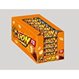 Nestle Lion Peanut Chocolate Bar - Full Box of 24