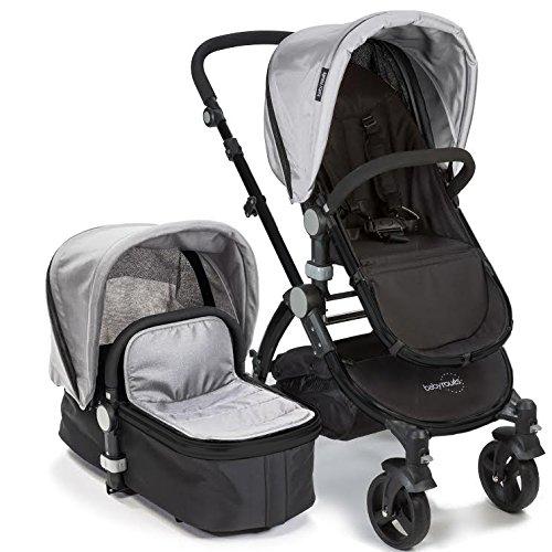 babyroues Letour IIB Stroller, Silver - 1