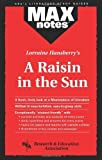 img - for Raisin in the Sun, A (MAXNotes Literature Guides) by Maxine Morrin (1994-11-15) book / textbook / text book