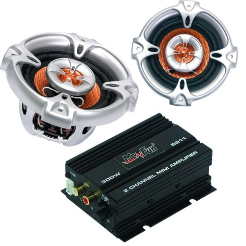 300W Auto Musikanlage Endstufe Lautsprecher CAR-316