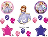 SOFIA THE FIRST Happy Birthday PARTY Balloons Decorations Supplies Disney POLKA DOTS