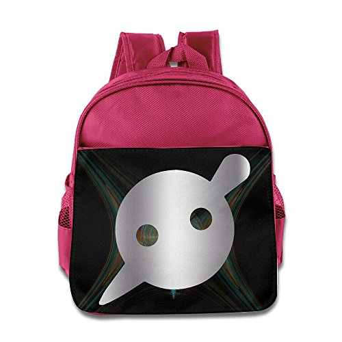 Knife Party Platinum Logo Little Kids(1-6 Years Old) School Backpack Bag Pink