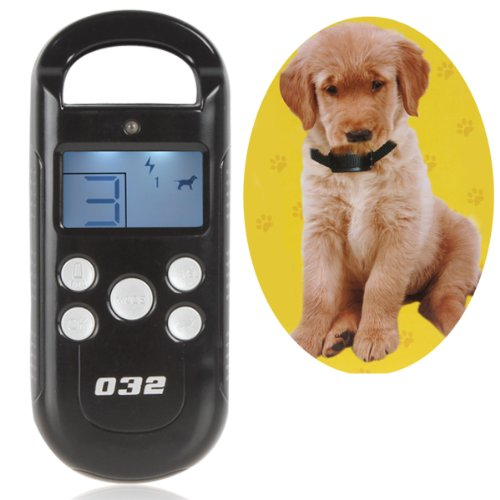 Origlam® Lcd Display Screen Dog Behavioural Remote Training System With 4 Shock Levels