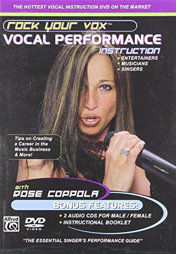 Rock Your Vox Vocal Performance Instruction (DVD & 2 CDs) (Instructions Not Included Dvd compare prices)