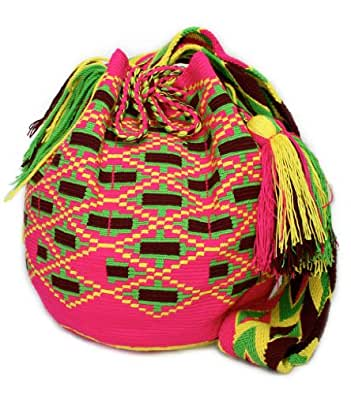 Wayuu Mochila Bag - Trendy Seasons # GF 7650: Handbags: Amazon.com