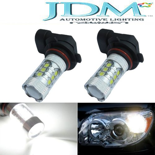 Jdm Astar Extremely Bright High Power 9006 Led Bulbs For Drl Or Fog Light,Xenon White