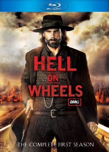 Cover art for  Hell On Wheels - The Complete First Season [Blu-ray]