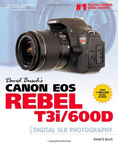 David Busch's Canon EOS Rebel T3i/600D Guide to Digital SLR Photography (David Busch Camera Guides)