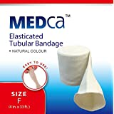 MEDca Elasticated Tubular Bandage Size F, 10M Box Natural Color (4