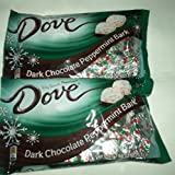Dove Dark Chocolate Peppermint Bark 7.94 Oz. 2 Bags