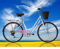 Ladies Girls Dutch Style Bike Bicycles 6 Speeds with Warranty Lightweight from Sportsman