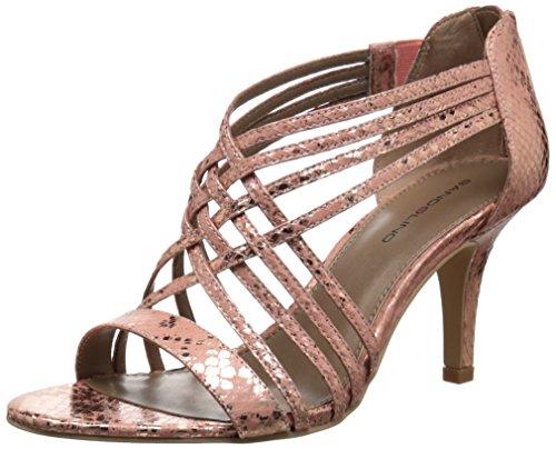 Bandolino Women's Mellona Dress Sandal, Medium Pink, 10