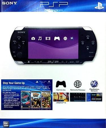 Sony Computer Entertainment PSP Console Bundle (Cars 2, Ratchet & Clank: Size Matters, Ape Escape: On the Loose)