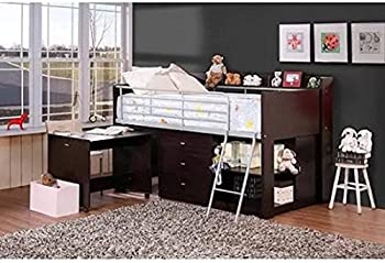 Savannah Twin Loft Bed w/ Desk