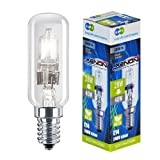 2 XENON 28W = 40W Energy Saving Cooker Hood bulbs ECO replacement 30% SES E14 screw Xenon Inside for longer Life