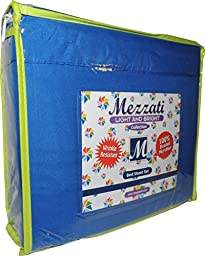 Mezzati Kids Toddler Teen Bedding - SALE - Best, Softest, Coziest Bed Sheets For Your Kid on Amazon! - High Quality Brushed Microfiber - BONUS eBook - MONEY BACK GUARANTEE!! (Blue, Full)