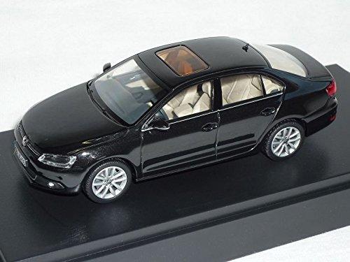 VW-Volkswagen-Jetta-Vi-6-Schwarz-Ab-2010-Limousine-143-Schuco-Modell-Auto-Modellauto