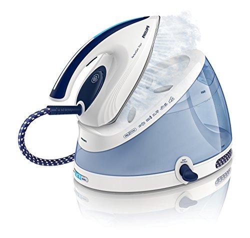 Philips GC8620/02 PerfectCare Aqua Dampfbügelstation weiß/blau