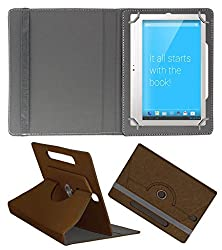 Acm Designer Rotating Case For Notion Ink Adam 2 Stand Cover Brown