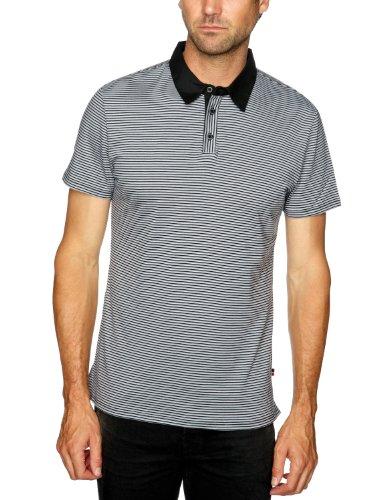 Esprit 072EO2K007 Polo Shirt Men's T-Shirt Black Small