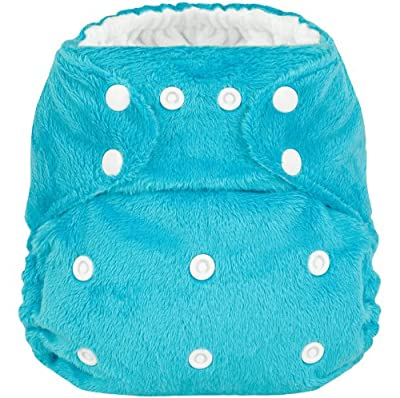 Minky Hero Pocket Diaper with 2 Microfiber Inserts