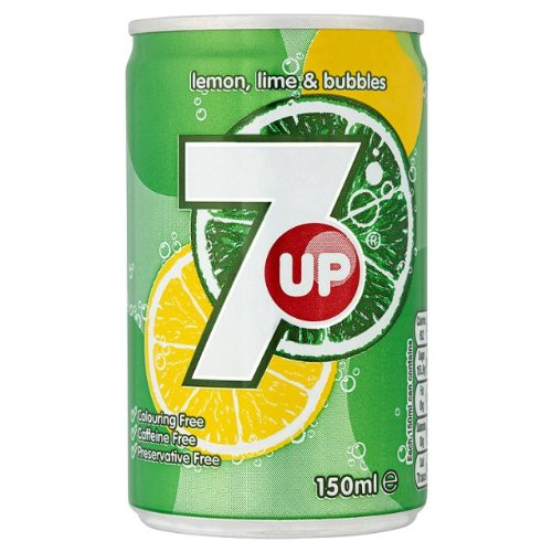 7 Up 24 x 150ml Min Cans