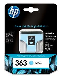 HP Hewlett Packard C8774EE 363 light blue cyan
