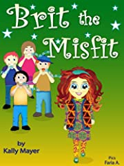 Children's EBook; ''Brit the Misfit'' (A Children's Rhyming Picture Book About Kindness and Bullying ) Beginner Readers ages 3-8 (