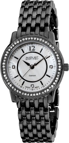 August Steiner Women's Dazzling Diamond Bracelet Watch