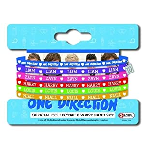One Direction - Official Phase 4 Gummy Set - Multi-colour from Rockoff Ltd