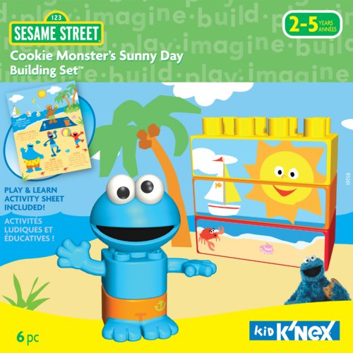 K'NEX Cookie Monster Sunny Day Building Set - 1