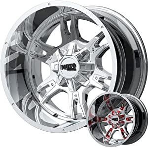 Moto Metal MO969 18 Chrome Wheel / Rim 5×5 with a -24mm Offset and a 78.3 Hub Bore. Partnumber MO96981050224N